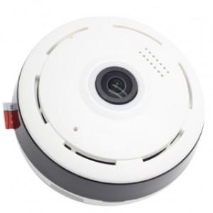 Облачная камера видеонаблюдения, панорамная 360, потолочная WiFi камера наблюдения Fisheye