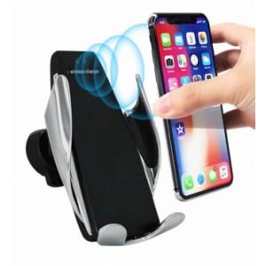 Держатель смартфона - Автоматическая Беспроводная автомобильная  зарядка, держатель для смартфона в авто с сенсорным датчиком GL-S5